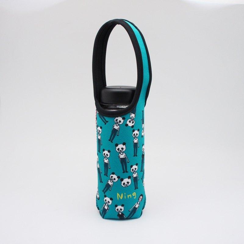 BLR 提把 保溫瓶套 張寧 聯名款 熊貓人 水壺袋 TC40