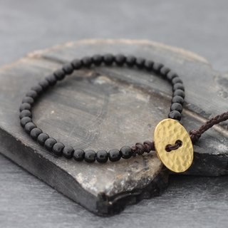 Basic Black Onyx Bracelets For Men Women Unisex