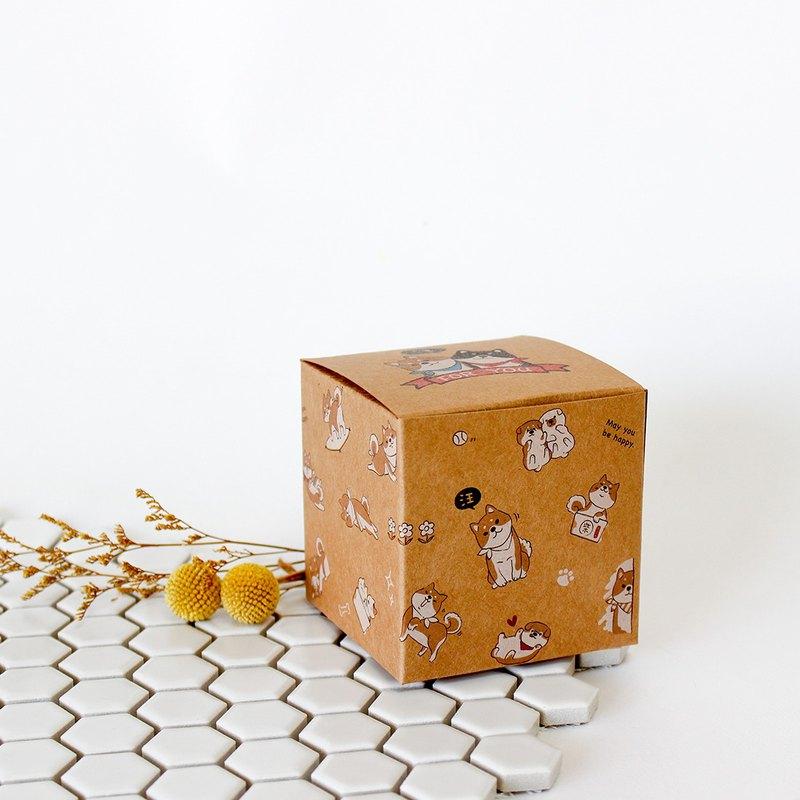 Mini Leather Gift Box Chai Zhihua Flower Bottom