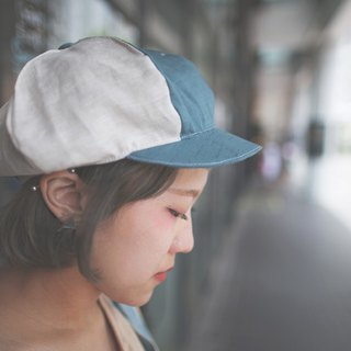 moment_mixed color newsboy cap.teal