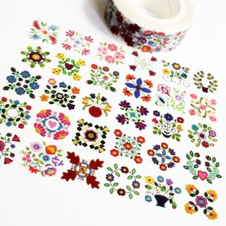 Masking Tape Floral World