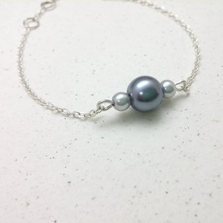 ♥ HY ♥ x bracelet hand-made Galaxy '' crystal pearl glass pearl