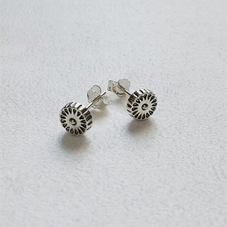 Sunspots/Sun descendant/Earrings/Sterling Silver/By hand【ZHÀO】SZE1612