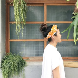 Blow small flower strap tight narrow version / handmade hair band