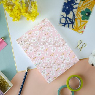 Sakura Powder - A6 manual notebook / PDA / diary / album / log / gift