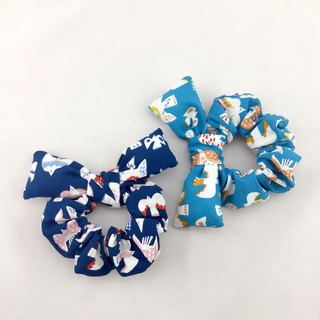 Color bird quiet dark blue models - donut butterfly hair bundle --- Butterfly wings lovely broken tables