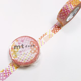 mt Deco Masking Tape 【Negapoji Dot Pink (MT01D422)】2018 summer