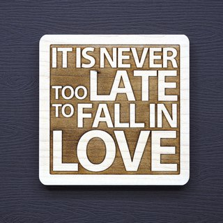 A word of wood coaster love will never be too late