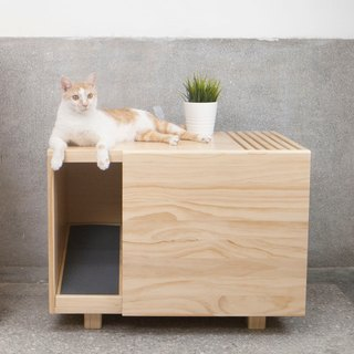 [Jiumu] single-layer cat cabinet