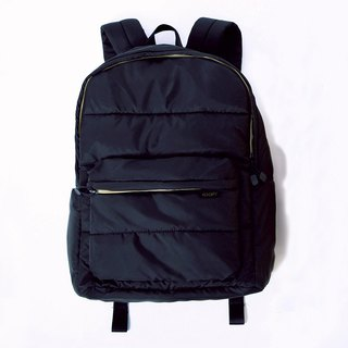 Backpack (large). Black ╳ yellow