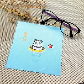 Panda Glasses cloth