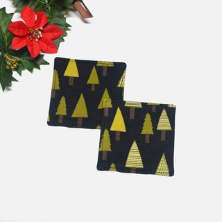 Trees coaster set of 2