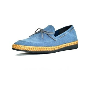 [Dogyball] JB7 Tour handmade rattan music shoes - tannins blue