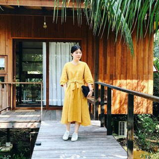 Lady Martha Dress : Yellow