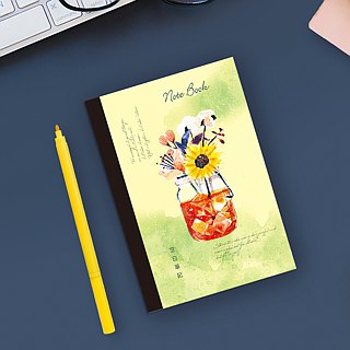 A6 / 50K Recycled Blank Note / Torn Notepaper
