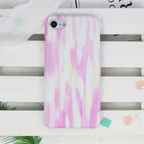 Oil stroke Matte hard Phone Case iPhone X 8 8 plus 7 7+ Samsung Note S8 S7 Sony