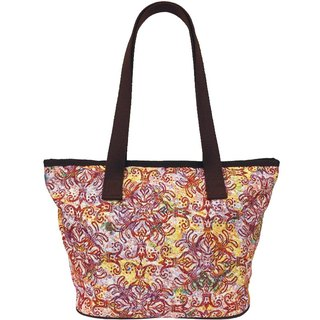 Jacquard weave Videos queen of flowers Coffee Tote