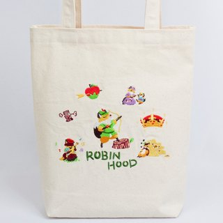 │Robin Hood │Embroidered Canvas Bag