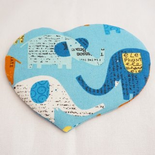 Love Coaster - Blue Elephant (1pc)