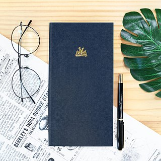 KEEP A NOTEBOOK Write notes CKN-002 A5 Slim Notes (9th) _A Blue Iron