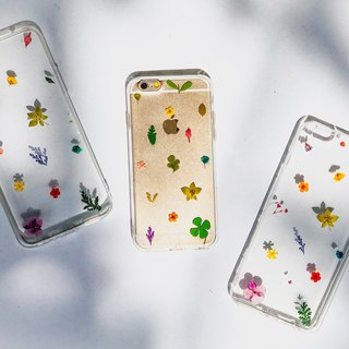 Mini 小花 乾花手機殼 Minimalist Pressed Flower Phone Cover