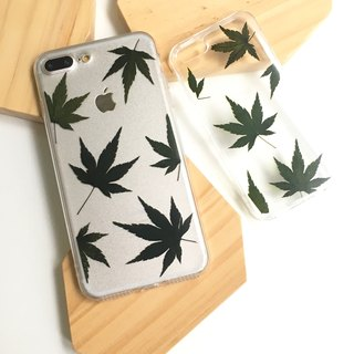 Classic maple leaf mobile phone case