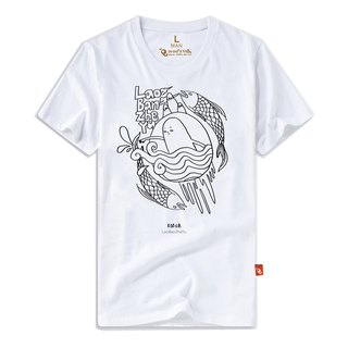 Boss this fish │ male short T- boss this fish tide T (limited + pre-order)