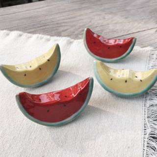 Bite a watermelon chopsticks holder