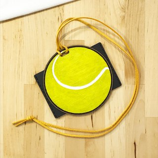 [Luggage Tag, Document Holder] Tennis Luggage Tag