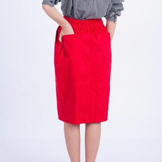 Straight Color Skirt