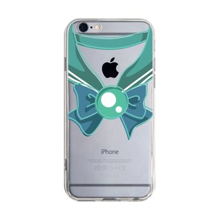 Transparent sailor uniforms dark green Samsung S5 S6 S7 note4 note5 iPhone 5 5s 6 6s 6 plus 7 7 plus ASUS HTC m9 Sony LG g4 g5 v10 phone case phone case phone shell phonecase