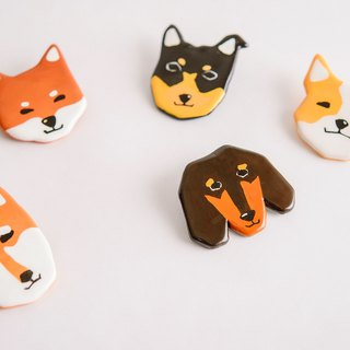 Pet Maobao Animal Series / Dog い ぬ dog pin / brooch