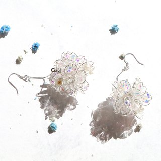 Purely。Pure / Pendant 925 pure silver ear pin