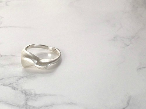 flower shower ring(silver)