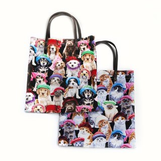 Cats X Dogs Tote Bag / We are Family