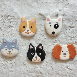 Wang Wangwang ceramic pin
