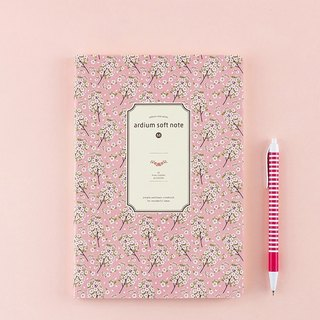 ARDIUM silky notebook (in) - pink cherry blossoms
