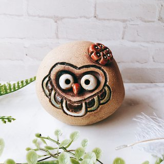 C-36 Owl Tao Ling │Yoshino Hawk x Office Small Things Pottery Design Bell Cute Gift