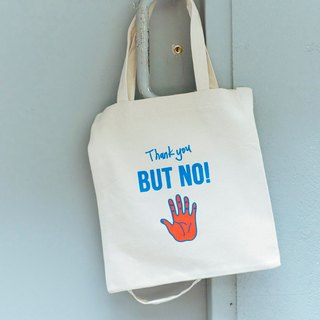 Be Nice Hand-printed Tote Bag Portable Shoulder