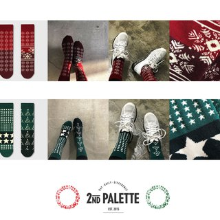 socks_christmas set / irregular / gift / anniversary / couple / pair / unisex