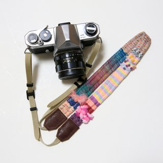 11/16 resale · Yarn's camera strap # 12