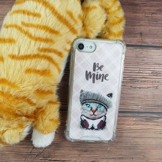 [fashion cat] anti-gravity anti-fall mobile phone case