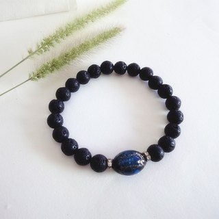 Bright Star - Basalt Mens Bracelets