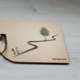 [Luggage tag] Road