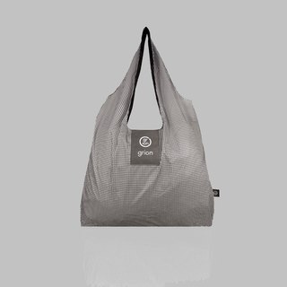 grion waterproof bag - Shoulder dorsal section (M) Limited models - small black and white grid