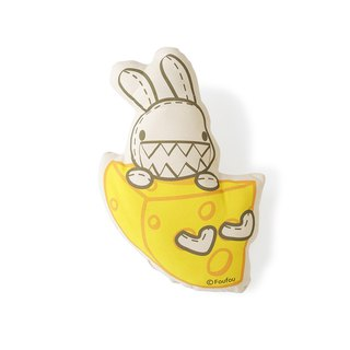 Foufou Rolling Pillow-Cheese Bunny
