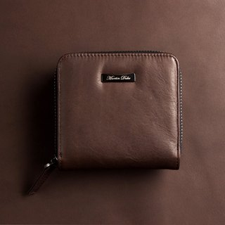 Martin Duke Leather Purse Brown