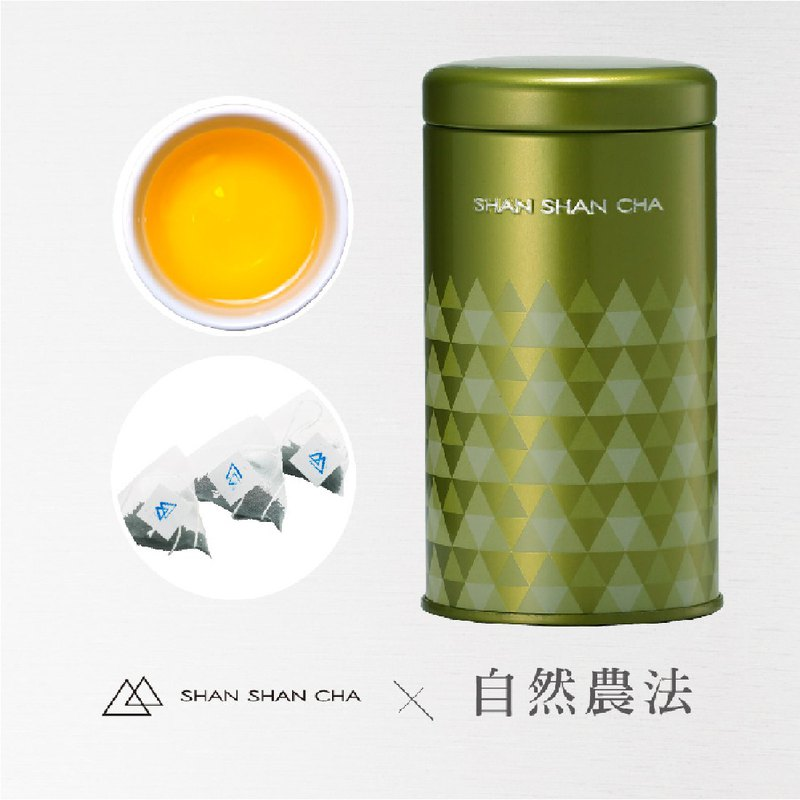 [Mountains come to tea] natural farming method Cuiyu Oolong tea bag (3gx10 into / can)