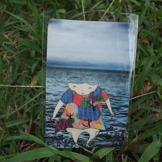 [Sticker] Plant Girl Series Sowing (Ocean)