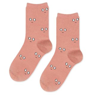 Sc. GREEN Lifestyle Big Eyes Socks / Socks / Comfort Socks / Womens Socks